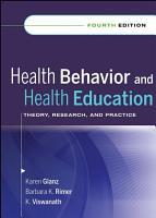 Health Behavior and Health Education PDF