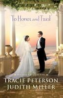 To Honor and Trust  Bridal Veil Island Book  3  PDF