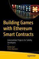 Building Games with Ethereum Smart Contracts PDF