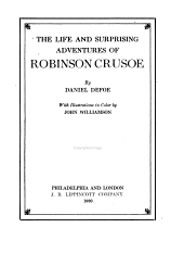 The Life and Surprising Adventures of Robinson Crusoe