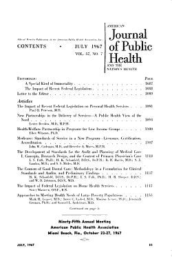 American Journal of Public Health and the Nation s Health PDF