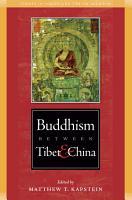 Buddhism Between Tibet and China PDF