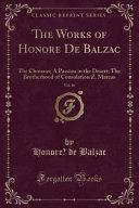 The Works of Honore    De Balzac  Vol  16 PDF