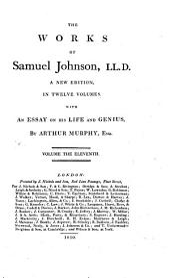 The Works of Samuel Johnson: Volume 11