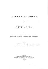 Recent Memoirs on the Cetacea: Volume 26
