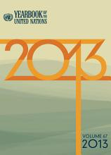 Yearbook of the United Nations 2013 PDF