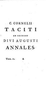C. Cornelii Taciti Opera quae supersunt: ex editione Jacobi Gronovii fideliter expressa