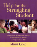 Help for the Struggling Student