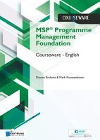 MSP   Foundation Programme Management Courseware     English PDF