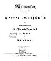 Missionsblatt: 1856