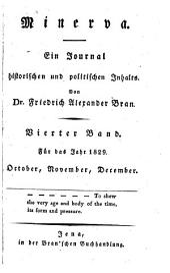 Minerva. Ein Journal historischen und politischen Inhalts hrsg. von J(ohann) W(ilhelm) v(on) Archenholtz. - Hamburg, Hoffmann 1793-. (germ.)