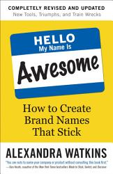 Hello My Name Is Awesome Book PDF