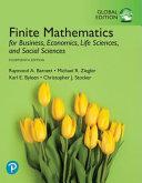 Finite Mathematics for Business  Economics  Life Sciences  and Social Sciences  Global Edition PDF
