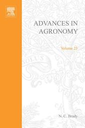 Advances in Agronomy: Volume 23
