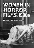 Women in Horror Films  1930s PDF