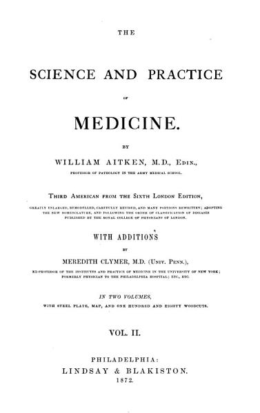 The Science and Practice of Medicine PDF
