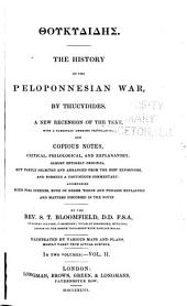 The History of the Peloponnesian War: Volume 2