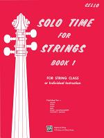 Solo Time for Strings  Book 1 for Cello PDF