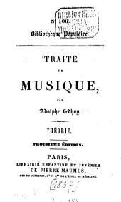 Traité de Musique: Volume1