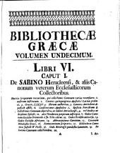 Bibliotheca Graeca: Volume 11