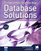 Database Solutions PDF
