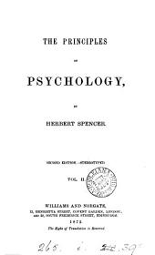 The Principles of Psychology: Special analysis, general analysis, corollaries