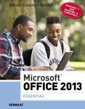 Microsoft Office 2013: Essential