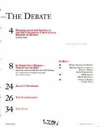 Burma Debate PDF