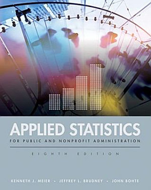 Applied Statistics for Public and Nonprofit Administration PDF