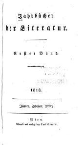 Jahrbücher der Literatur: Bände 1-2