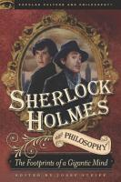 Sherlock Holmes and Philosophy PDF