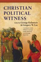 Christian Political Witness PDF