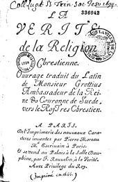 De la Vérité de la religion chrétienne