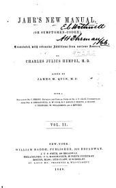 Jahr's New manual; or, Symptomen-codex