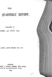 The London Quarterly Review: Volume 80