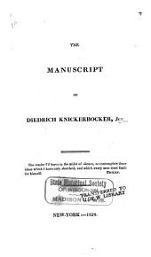 The manuscript of Diedrich Knickerbocker, Jun