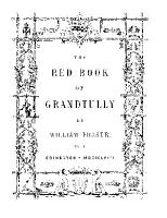 The Red Book of Grandtully PDF