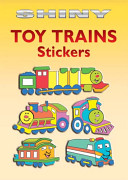 Shiny Toy Trains Stickers