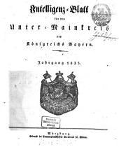 Intelligenzblatt für den Unter-Mainkreis des Königreichs Bayern: 1835