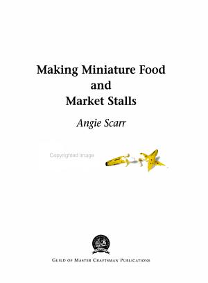 Making Miniature Food and Market Stalls PDF