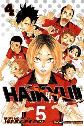 Haikyu!!, Vol. 4: Rivals!