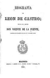 Biografía de Leon de Castro