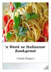 'n Week se Italiaanse kookgenot