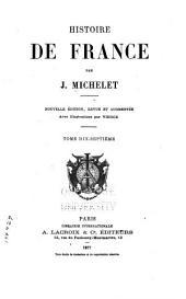 Histoire de France: Volume17