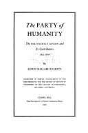 Download The Party of Humanity Book