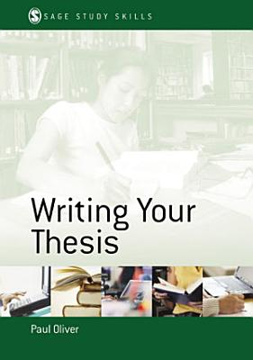 Writing Your Thesis PDF