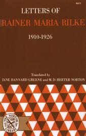 Letters of Rainer Maria Rilke, 1910-1926