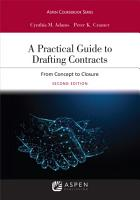 A Practical Guide to Drafting Contracts PDF