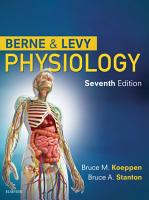 Berne and Levy Physiology E Book PDF