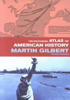 The Routledge Atlas of American History PDF